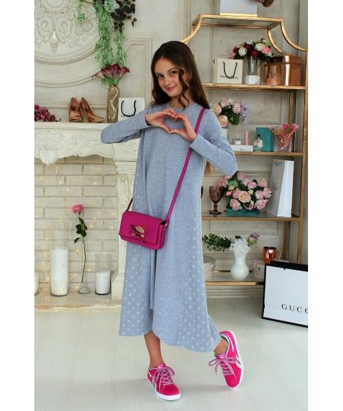 Платье трикотажное МАКСИ