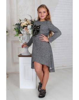 """Платье ассиметричное """"Сова"""""""