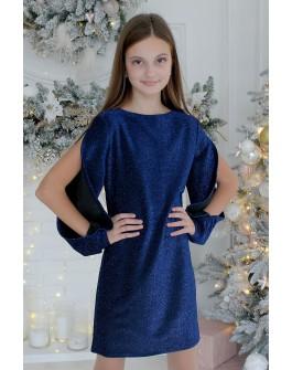 Платье с открытыми рукавами